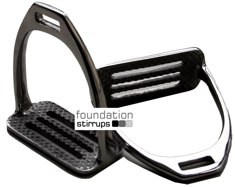 Wide-base Jumping Stirrup Irons